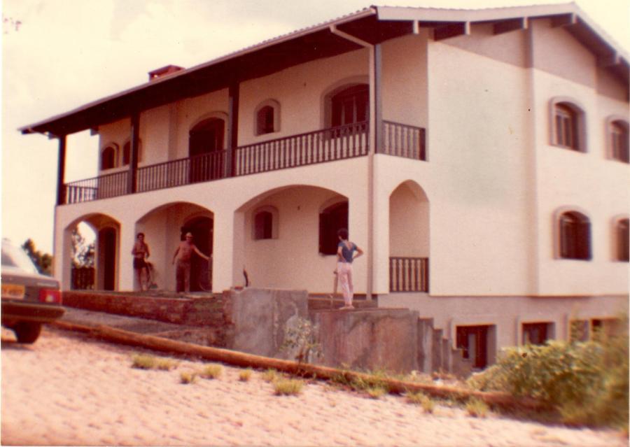Casa do seu Locatelli em construção